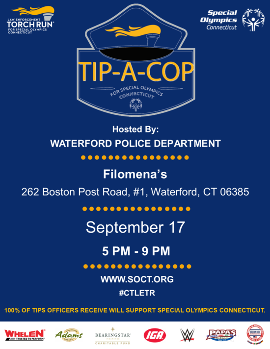 Waterford PD TAC Flyer Filomena's 9.17.2020.png