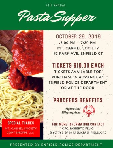 4th Annual Pasta Supper Fundraiser FLYER.JPG