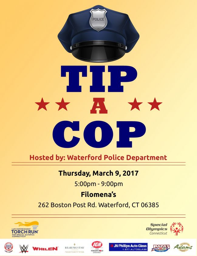 SOCT :: Tip-A-Cop Hosted by Waterford Police Department