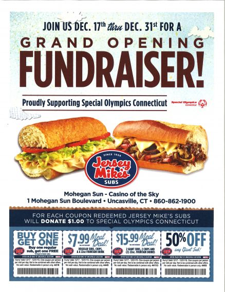 Jersey Mike's Mohegan Sun coupon 12, 2015.jpg